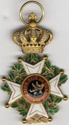 Décoration, Belgique | Leopold II. Souverain