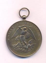 Médaille, Belgique, 1906Fisch | Leopold II. Souverain