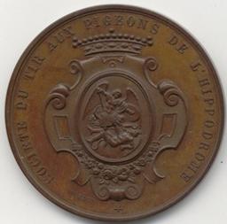 Penning, Brussel, 1876   Würden, Jean. Artiest