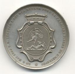 Médaille, Belgique, 1844Hart | Leopold I. Souverain