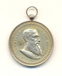 Médaille, Belgique, 1901 Fisch | Leopold II. Souverain