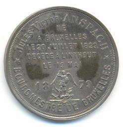 Médaille, Belgique | Leopold II. Souverain