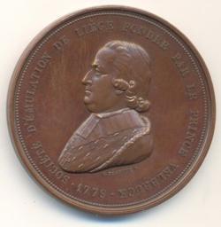 Médaille, Belgique, 1879Jehotte | Leopold II. Souverain