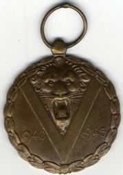 Médaille, Belgique | Leopold III. Souverain