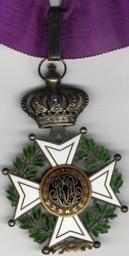 Décoration, Belgique | Leopold I. Souverain