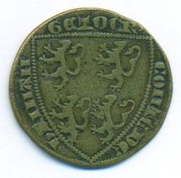 Jeton, Pays-Bas; Comté de Hainaut | Guillaume I, comte de Hainaut. Souverain