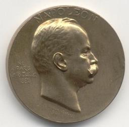 Médaille, Belgique, 1901Trojanowski, W | Leopold II. Souverain