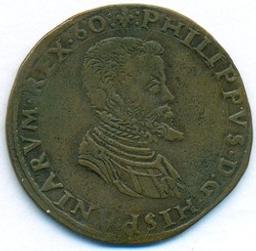 Jeton, Belgique, 1560 | Philippe II. Souverain