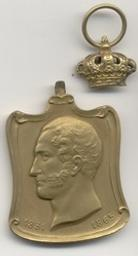 Médaille, Belgique, 1901Stienon, J | Leopold II. Souverain