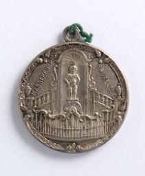 Médaille, Belgique, 1914 | Albert I. Souverain