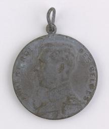 Médaille, Belgique   Albert I. Souverain