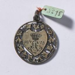 Médaille, Belgique, 1915[Breting] | Albert I. Souverain