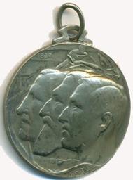 Médaille, Belgique | Albert I. Souverain