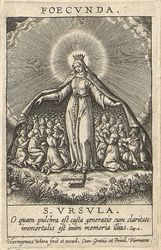 The Chastity of the Fertile graphic | Wierix, Hieronymus (Anvers, 1553 - 1619). Dessinateur-maquettiste