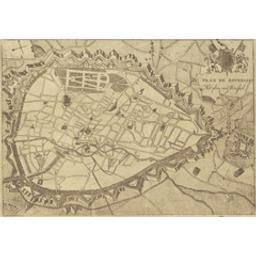 Plan de Bruxelles Document cartographique | Pauwels, Gerard (fl. 1769-94). Éditeur