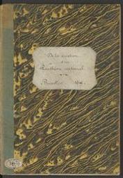 De la création d'un Panthéon national lettre à M. le Ministre de l'Intérieur par Fr. de W | A. Decq. c. 1832-1857. Uitgever