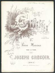 Le coursier Musique imprimée = Gedrukte muziek 8e poésie : op.67 Joseph Gregoir | Gregoir, Jacques Mathieu Joseph (1817-1876). Componist