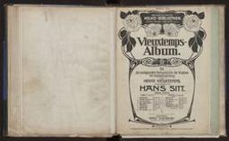 Vieuxtemps-Album Kompositionen für Violine mit Klavierbegleitung : Heft II : 1. Rêverie Op. 22 no 3 ; 2. Air varié, D dur Op. 22 no 1 ; 3. Douleurs Op. 45 no 1 ; 4. Espoir Op. 45 no 2 ; 5. Saltarelle aus Op. 35 ; 6. Yankee doodle , Op. 47 Henry Vieuxtemps ; herausgegeben von Hans Sitt | Vieuxtemps, Henry (1820-1881)