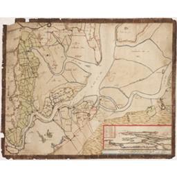 [Kaart van Antwerpen en omstreken ten tijde van de belegering van 1585] Cartografisch document Anoniem |