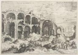 Third View of the Colosseum | Cock, Hieronymus (fl. 1548-1570). Dessinateur-maquettiste