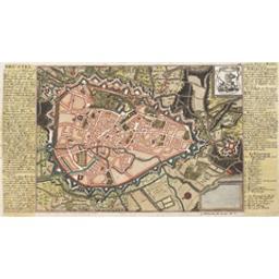 Brüssel Document cartographique G. Bodenehr fec. et exc. A.V | Bodenehr, Gabriel (1664-1758)
