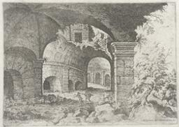 Eight View of the Colosseum | Cock, Hieronymus (fl. 1548-1570). Boekontwerper