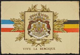 Vive la Belgique Postcard |