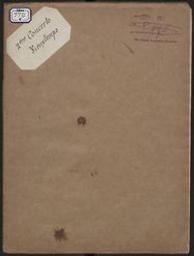 Zweites Concert für Violine mit Begleitung des Orchesters oder Pianoforte Op. 19 (Ausgabe für Violine und Piano) Henry Vieuxtemps | Vieuxtemps, Henry (1820-1881)