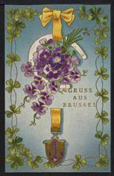 Gruss Aus Brüssel postcard  