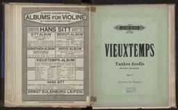 Yankee doodle = Souvenir d'Amérique caprice burlesque pour violon avec accompagnement de piano : Op. 17 Henry Vieuxtemps | Vieuxtemps, Henry (1820-1881)