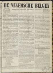 De vlaemsche Belgen dagblad voor staetkunde, koophandel en letterkunde |
