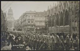 Brüssel 1915 postcard  