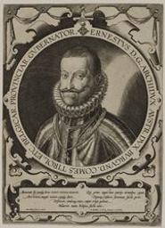 Portrait of Ernst, Archduke of Austria graphic   Wierix, Anton II (Flemish printmaker, 1555/1559-1604). Graveur