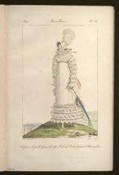 Incroyables et Merveilleuses graphic Merveilleuse | Vernet, Emile Jean Horace (1789-1863) - peintre. Illustrateur