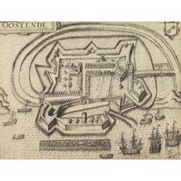 Oostende Document cartographique | Claesz., Cornelis (ca 1546-1609). Éditeur