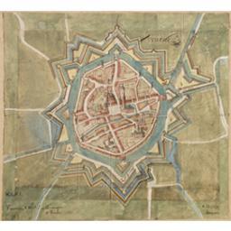 Veurne Cartografisch document Anoniem |