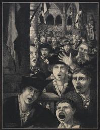Vive La Belgique !! | Combaz, Gisbert (1869-1941). Artiste