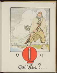 Qui Vive? | Allard L'Olivier, Fernand (Tournai, 1883 - Yanongé (Zaïre), 1933) - graveur. Artiste