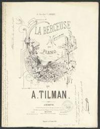 La berceuse Musique imprimée = Gedrukte muziek mélodie Alfons Tilman | Tilman, Alfons. Componist