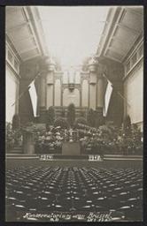 Konservatorium von Brüssel postcard  