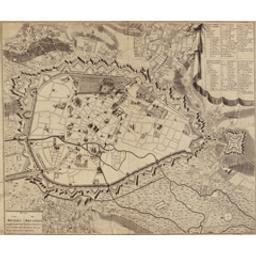 Plan van Brussel hooftstadt van Brabant en van de geheele Oosten-Rijkse Nederlanden Document cartographique |
