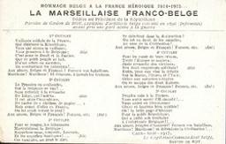 La Marseillaise Franco-belge Gaston de Roy | Roy, Gaston de