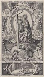 The Virgin and Christ Triumphing over the Heretics. graphic | Wierix, Anton II (Flemish printmaker, 1555/1559-1604). Artiste