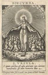 The Chastity of the Fertile graphic | Wierix, Hieronymus (Anvers, 1553 - 1619). Artiste