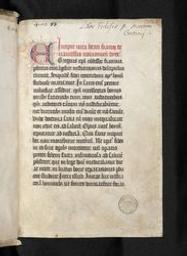 [De Sancto Fiacro] = [ms. 8552]   Bollandistes (Anvers). Propriétaire précédent