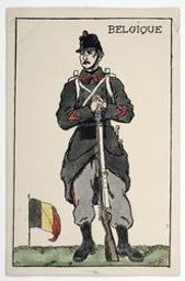 Belgique postcard |