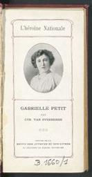 L'héroïne nationale Gabrielle Petit par Cyrille Van Overbergh | Van Overbergh, Cyrille (1866-). Auteur