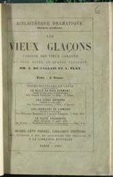 Les vieux glaçons parodie en deux actes en quatre tableaux par MM. A. de Jallais et A. Flan | Jallais, Amédée de (1826-1909). Auteur