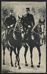G1 Joffre. - Albert I. postcard |