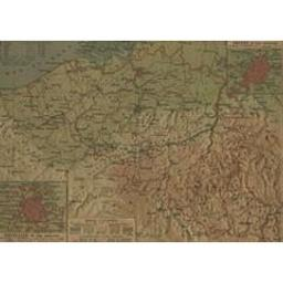 Belgique Document cartographique | Mager, Henri (1859-)